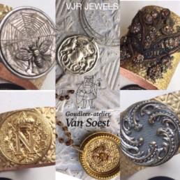 Goudleer VJR Jewels